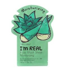 Тканевая маска с алое Tony Moly I'm Real Aloe Mask Sheet