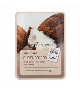 Tony Moly Pureness 100 Shea Butter Mask Sheet(Тканевая маска с маслом ши)